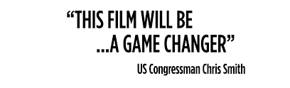 This film will be a game changer - US Congressman Chris Smith